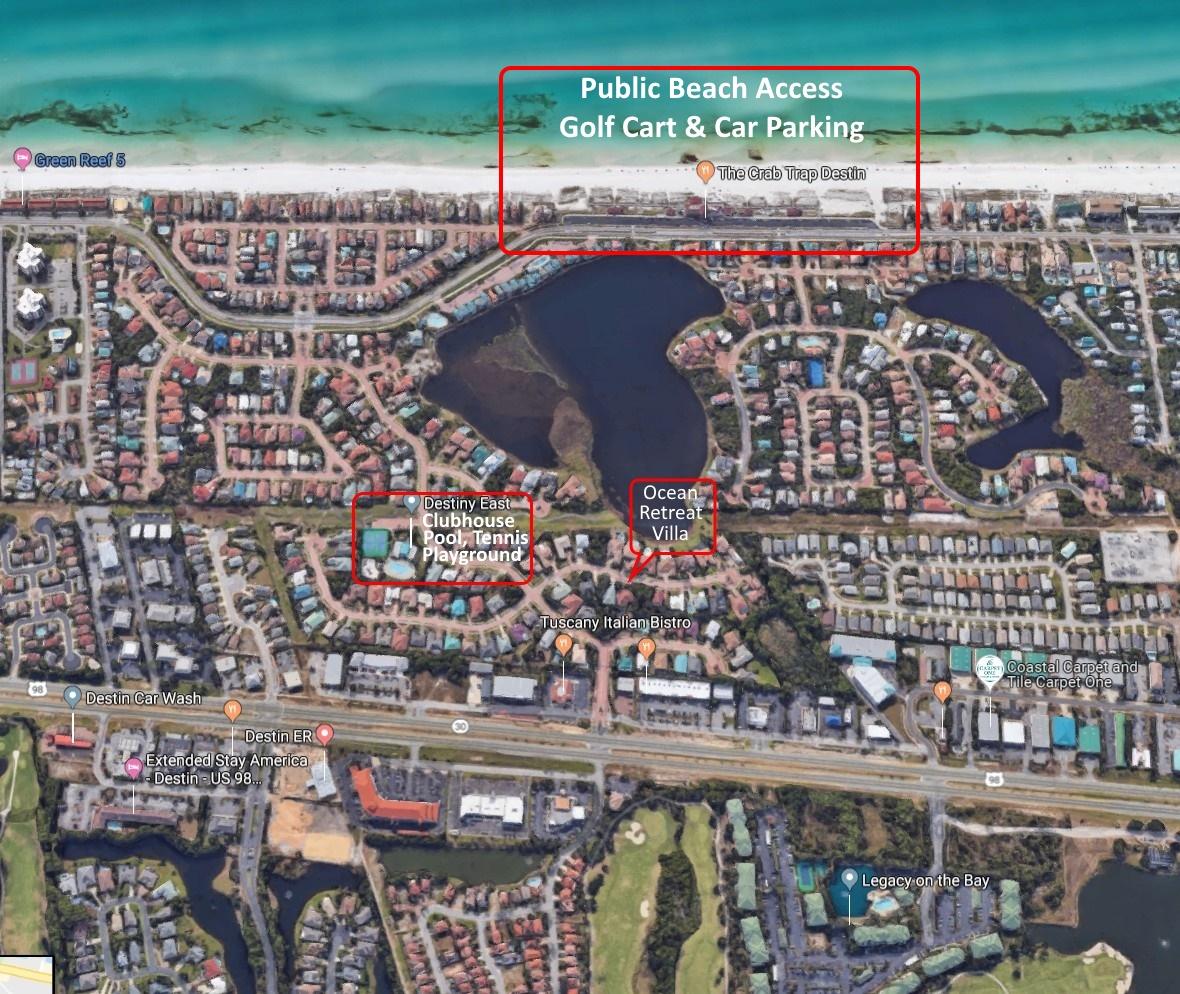 Maps - Ocean Retreat Villa